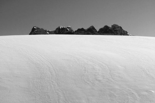 An island in the snow - 2 by ZephyraMilie