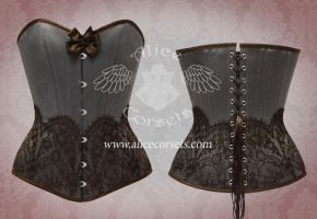 Overbust corset by Alice-Corsets