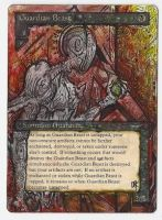 Magic Card Alteration: Guardian Beast by Ondal-the-Fool