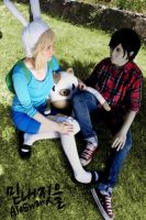 Fionna and Cake - FioLee Cosplay by MyobiXHitachiin