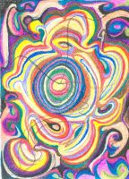 New Spiral in Crayon by OxxyJoe
