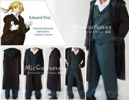 Fullmetal Edward Cosplay by miccostumes