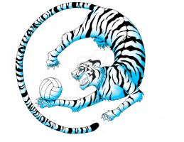 Volleyball Tiger - Logo by Coccis