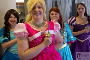Barbie and the 3 Musketeers by gallopingcowgirl