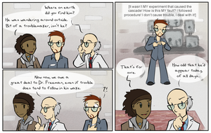 Blame the postdoc, they're easy targets by zarla