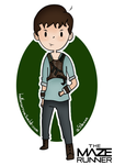 Thomas from the Maze Runner by KaylaPendragon