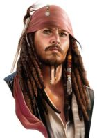 jack sparrow by lee-gorky