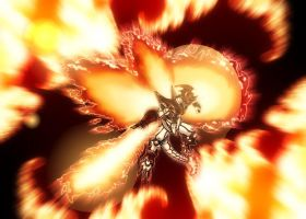 ShineGreymon Burst Mode by ITACHI90811