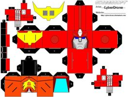 Transformers - Hot Rod by CyberDrone