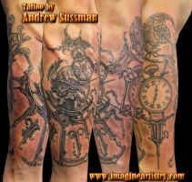 Steampunk Clocks by asussman
