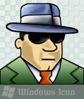 Not-So-Secret Agent Man - Icon by ssx