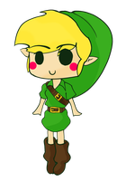 Le Chibi Link by IsidithRose