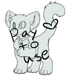 Pay to use Kitty base by Artistonfire