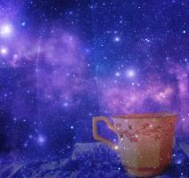 Cosmic Tea Party by YoureMyKindOfHeroin
