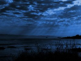 Dark Blue Sea by Limited-Vision-Stock