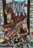 Zilla sketchcard by MJTannacore