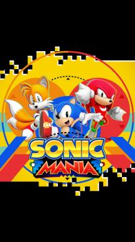 Sonic Mania Phone Size by Nibroc-Rock