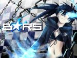 Black Rock Shooter by mangarainbow