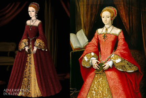 Young Elizabeth I by Kathofel