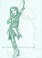 Elven Archer by melime6