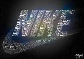 Nike Typography by G-Sully