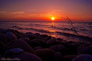 A Perfect Mediterranean Sunset (1) by BlueLunarRose