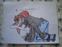 Frerard: Drawing: When Frerard Attacks by gerardismylover