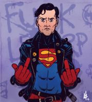 Superboy was always punk pt 1 by mikefeehan