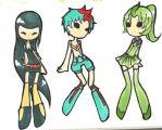 Pokemon Gen2 Starter Gijinka Adoptables [CLOSED] by Explodifirer