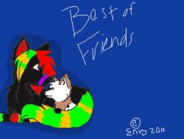 Best of friends by x-Vodkaa