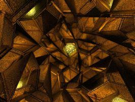 GeoMetricGoldMine by sushifreak