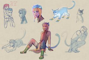 Ranulf sketches by firehorse6