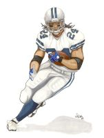 Marion Barber by DFitchPencilArt