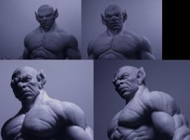 panthro 1.6 bust....... by zoko1