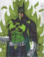 Batman green lantern by ChahlesXavier