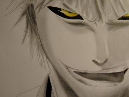Hollow Ichigo ~ Bleach by Jennux3
