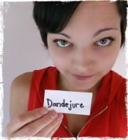 Fansign - dandejure by Esarina