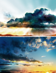 Sky studies by alicexz