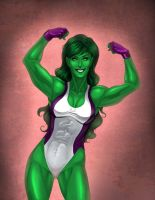 She Hulk by arm01