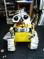 Wall-e model by angieluvsyou