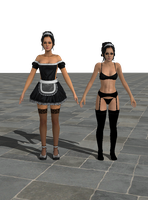 Kitty Maid, PACK by anorexianevrosa