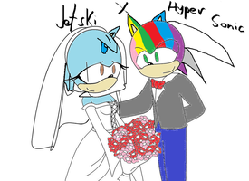 JetskixHyperSonic wedding gift by Crystalthehedgeho100