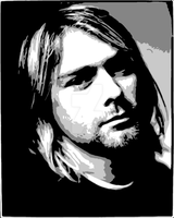 Kurt Cobain Nirvana by pilsus