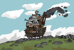 Howl's Moving Castle by faithless12