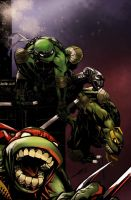 Tmnt  Gang colors by me!. by Gman20999