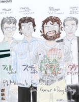 Phil, Stu, Alan and Doug by Chotetsumaru