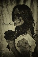 Black Rose by D3vilusion