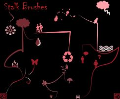 Chiller Stalk Brushes Set 1 by KaiPrincess