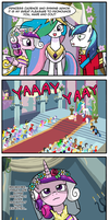 Canterlot Wedding BAD END by CrimsonBugEye