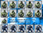 Halo 3 Armor Permutations by trent28o